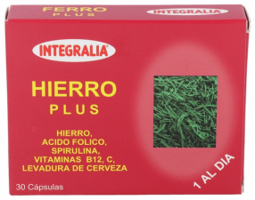 Hierro Plus 30 Cap.  - Integralia