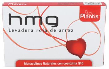Hmg (Levadura Roja De Arroz) Con Q10 60 Cap.