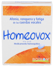 HOMEOVOX 60 CO BOIRON