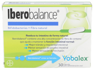 Yobalex Digestive Balance Regularidad intestinal Prebióticos Probióticos 30 cápsulas - Farmacia Ribera