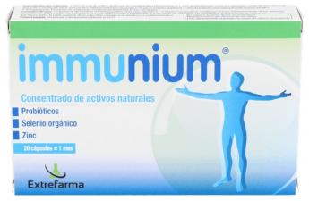 Immunium 20 Caps - Extrefarma