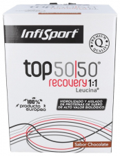 Infisport Top 50/50 Evo Leucina Chocolate 1 Kg