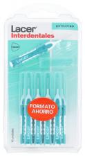 Interdental Recto Extrafino 10 Unidades (Verde) Ahorro - Lacer