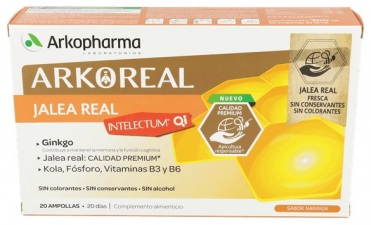Jalea Real Intelectum Con Fosforo Ampollas Bebi - Arkopharma