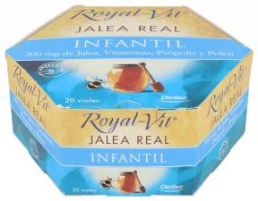 Jalea Real Royal Vit Infantil 300Mg. 20Amp