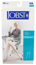 Jobst Media Corta 140 Compresión Normal Color Negro Talla 5 1 Unidad - Farmacia Ribera