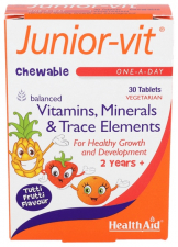 Junior-vit 30 Comprimidos - Health Aid