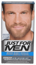 Just For Men Bigote Y Barba 100 Cc Castaño Claro - Combe