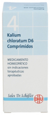 Kalium Chloratum Nº4 D6 80 Comprimidos Dhu