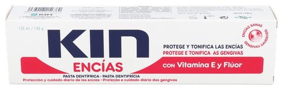 Kin Encías Pasta Dentífrica 125 Ml - Farmacia Ribera