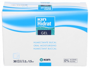 Kin Hidrat Gel Humectante Bucal 30 Sobres - Farmacia Ribera