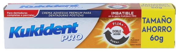 Kukident Pro Doble Accion Crema Adhesiva - Procter & Gamble