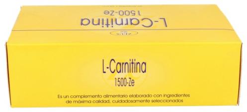 L- Carnitina 1500 Ze 30 Ampollas - Zeus