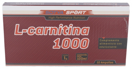 L-Carnitina 1000Mg. 10 Viales