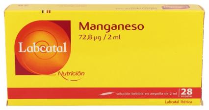 Labcatal 10 Manganeso 28 Ampollas