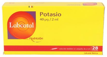 Labcatal 16 Potasio 28 Ampollas