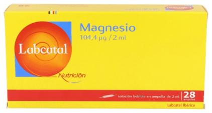 Labcatal 9 Magnesio 28 Ampollas