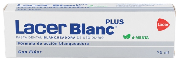 Lacerblanc  Plus 75 Ml. Menta  - Lacer