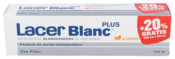 Lacerblanc Plus 125 Ml. Citrus + Promoción Lacer