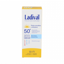 Ladival Piel Sens Gel-Cr Facial Fps 50+ Muy Alta