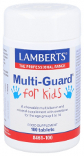 Lamberts Multiguard For Kids 100 Tabletas
