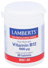 Lamberts Vitamina B12 1000Ug 60 Tabletas