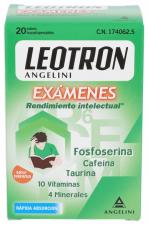 Leotron Examenes 20 Sobres