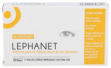 Lephanet 12 Toallitas Esteriles - Thea