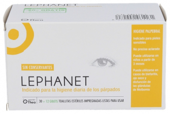 Lephanet Toallitas Estériles | Farmacia Ribera