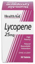 Licopeno 25 mg 30 Comprimidos - Health Aid