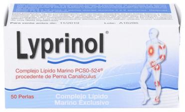 Lyprinol 50Perlas Naturaya
