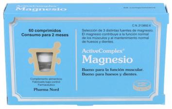 Magnesio Active Complex 200 Mg. 60 Comprimidos