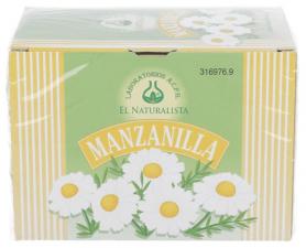 Manzanilla Infusion 20Bolsitas - El Naturalista