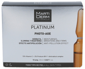 Martiderm Photo Age Ampollas - Farmacia Ribera