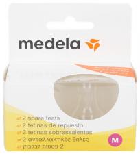 Medela Tetina Flujo Medio 2 Unidadestalla M - Farmacia Ribera