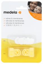 Medela Valvulas Y Membranas Recambio Extractor De Leche Electri - Farmacia Ribera