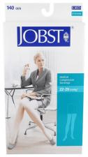 Media Jobst Compresion Normal Larga Blonda Negra Talla 2 - Bsn Medical
