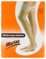Media Maries Larga Blonda Compresion Normal Neg T-4 - Laboratorios Milo