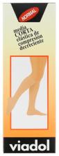 Media Viadol Corta Compresión Normal Beig V-34 T4 - Farmacia Ribera