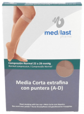 Medilast Media Corta Con Puntera Beig Tm - Farmacia Ribera