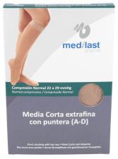 Medilast Media Corta Con Puntera Beig Txl - Medilast