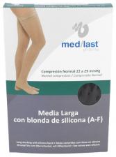 Medilast Media Larga Blonda Negra T/M - Medilast