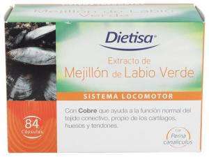 Mejillon De Labio Verde (Gemiflor Super) 84Cap - Dietisa