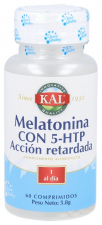 Melatonina+5-Htp 60 Tabletas Kal