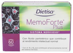 Dietisa Memoforte Plus 60 Cápsulas