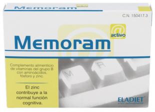 Memoram 60 Comprimidos Eladiet