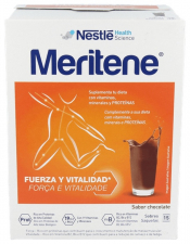 Meritene Batido Chocolate 15 Sobres de 30 Gr.