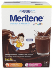 Meritene Junior Sabor Chocolate 15 Sobres