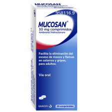 Mucosan 30 mg comprimidos Mucosidad - sanofi