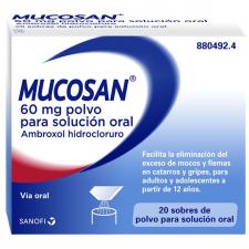 Mucosan® Granulado 20 sobres Mucosidad - Sanofi